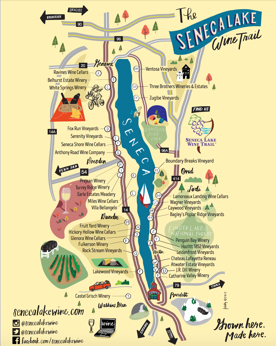 Wine Tours | Ithaca Wine Tours, Beer Trail Tours and Cheese ... on